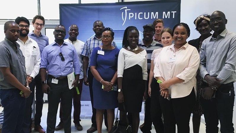 Besuch afrikanische Delegation bei Picum MT