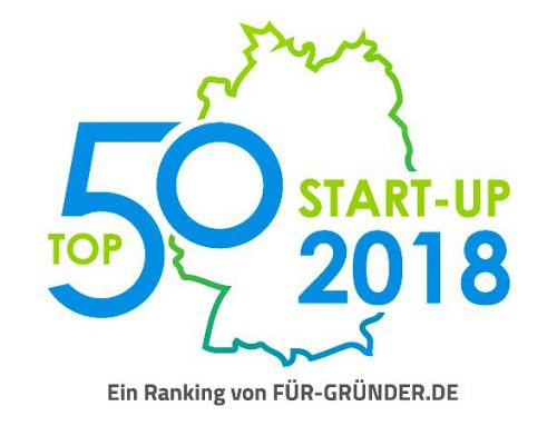 Picum MT is listed in Germanys Top 50 Start-Ups 2018