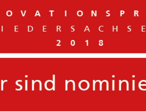"""Picum für den """"Niedersächsischen Innovationspreis 2018"""" nominiert"""
