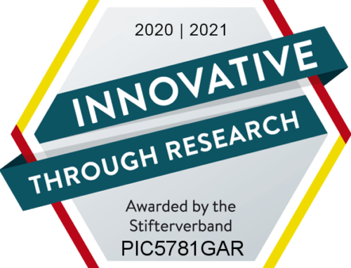 "Picum MT receives the seal of approval ""Innovative through research"" 2020/2021"